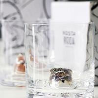 Kosta boda New Friends动物水杯 提升家居格调的精致好物