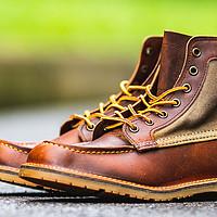 夏天咔叽好选择——Red Wing 3335 Wacouta帆布拼皮工装靴