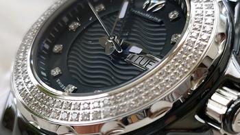 表奴淘表 篇二十九:真正的低调奢华有内涵!镶满130颗钻石的TechnoMarine铁克龙TM-111054女士手表