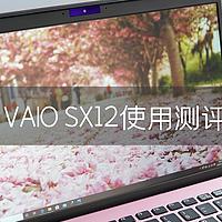 """高颜便携有实力:""""猛男色""""VAIO SX12使用测评"""