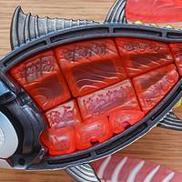 MEGAHOUSE鲔鱼拼图,豆芽水产特别版