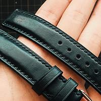 复古黑 | 天梭手工表带制作