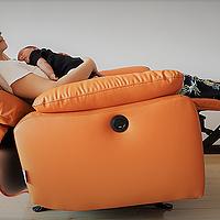 二胎家居升级计划 篇五:体感舒适,功能丰富,以小博大的芝华仕D-9780M单人位沙发了解一下