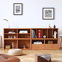 鸡肋空间用格子柜填满吧,不仅美观,收纳空间更是大一倍!8款MUJI风格子柜推荐~