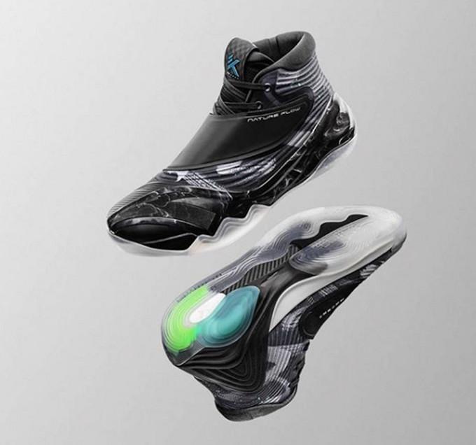 """""""高山流水""""的东方美学:ANTA 安踏 发布 KT6 汤普森第六代签名球鞋"""