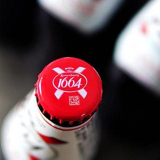 精致的果味啤酒——kronenbourg 1664桃红啤酒