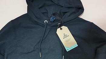 prAna sector hoodie 带帽卫衣分享:平平无奇中隐藏细节