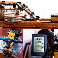 犹豫了大半年,划船机我终于入手啦!哇咖北美白蜡木5档水阻划船机,你想知道的细节都在这里啦~