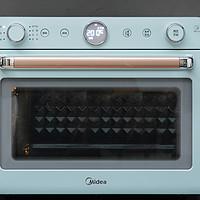 专业热风烤箱+大容量空气炸锅合体的颜值好物----美的PT3520W电烤箱
