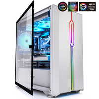 爱国者(aigo)YOGOM3白色游戏药丸MINI全侧透电脑机箱(支持M-ATX主板/240水冷/侧开式磁吸钢化玻璃)