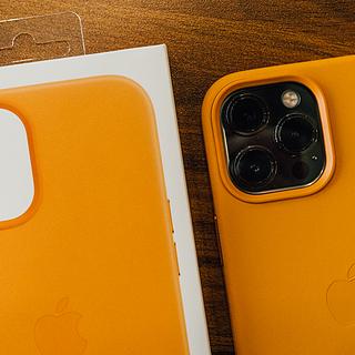 读完之前千万别买!iPhone 12 Pro Max 花菱草色皮革壳