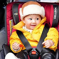 宝宝开心,父母安心之选-惠尔顿星愿儿童安全座椅晒单