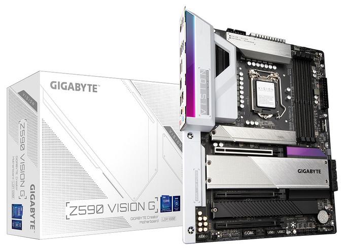 技嘉发布VISION系列Z590主板,全新的VisionLINK技术