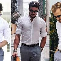 白衬衫只能配西装?三分钟带你解锁更多穿搭技巧,谁穿谁好看!