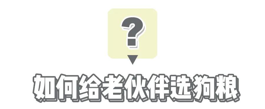 【老年犬选粮攻略】老可爱们该换粮啦?热门进口老年犬粮表现如何秀?!