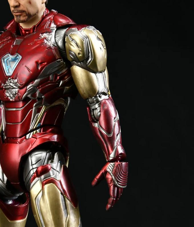 78动漫官方评测】 万代 S.H.Figuarts 钢铁侠Mk85 -《I am Iron Man》版-