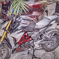 摩托車 篇一:萬元合資小排量玩樂車——五羊本田CB190R