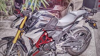 摩托车 篇一:万元合资小排量玩乐车——五羊本田CB190R