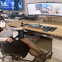 全屋智能家居装修 篇四:极简主义桌面,隐藏式磁条收纳,200元改造,小爱联动一键开关电脑和房间全部灯