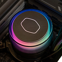 酷冷至尊冰神G360幻境水冷散热器测试,灯效细腻性能满意!