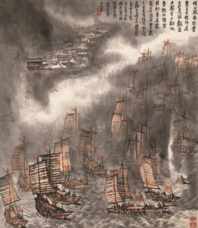 颂古咏今 流光溢彩:香港春拍中国书画先睹为快,长图超过瘾!