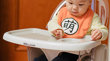 懒猫聊母婴 篇七:颜值高功能多,好用又好洗,惠尔顿透明餐椅开箱
