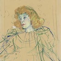 十九世纪巴黎传奇艺术家亨利·德·图卢兹-劳特累克和他的平版印刷版画