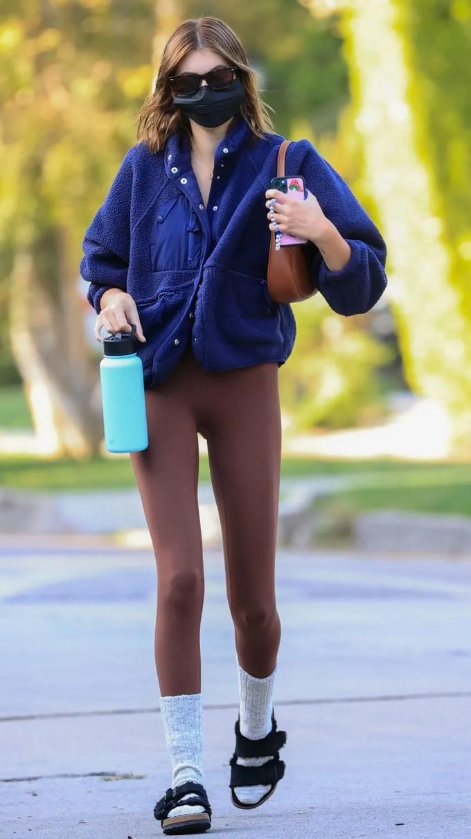超模健身穿搭|Kaia&Kendall都爱这些