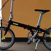 折叠车也玩破风--狼途折叠自行车V3-9开箱测评