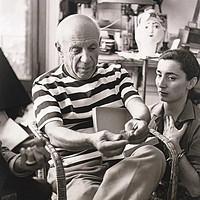 炉火纯青,自由无羁!87岁毕加索笔下最后的缪斯《侧躺的女人与蜻蜓》