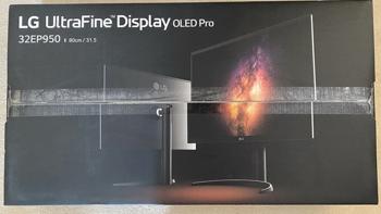 LG 32EP950顶级4K OLED屏真容照首次现身,已有玩家拿到货