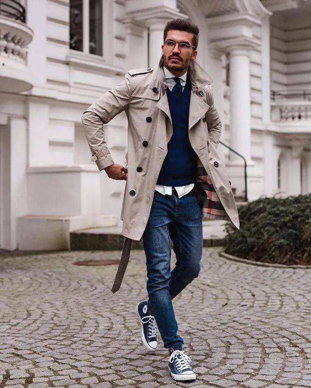 风衣该怎么搭配,才能让男性魅力飙升?