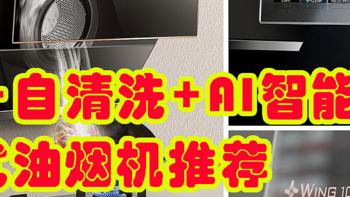 2021年高性价比、自清洗、AI智能油烟机推荐:云米Wing1C