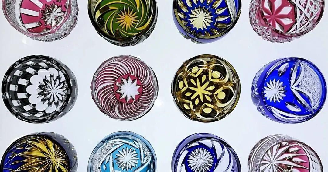 日本传统工艺篇 魔幻般光与影的玻璃工艺品 江户切子