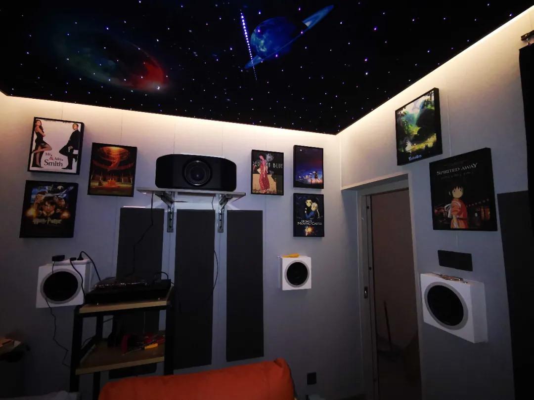 【家庭影院方案】11平米小黑屋完工,记录影音室搭建过程