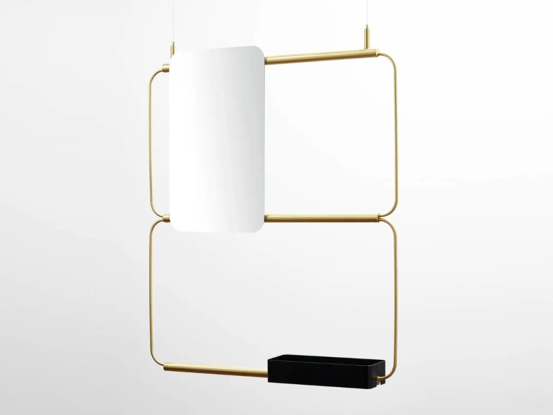 别出心裁的镜子设计,一面镜子体现一种品味