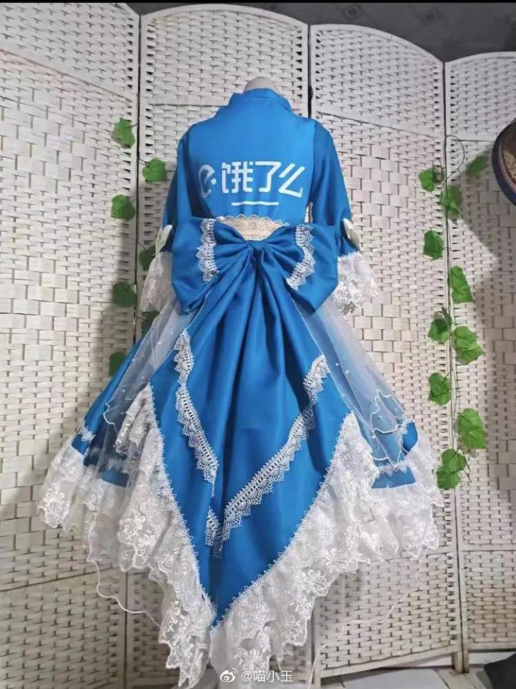 外卖Lolita装,饿了么、美团申请出战!