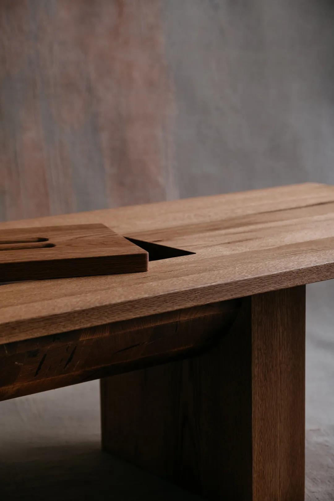 8 款极简木质家具,极简=极奢
