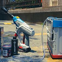 2021年了你还没自己洗摩托车吗|绿田高达联名便携洗车泵