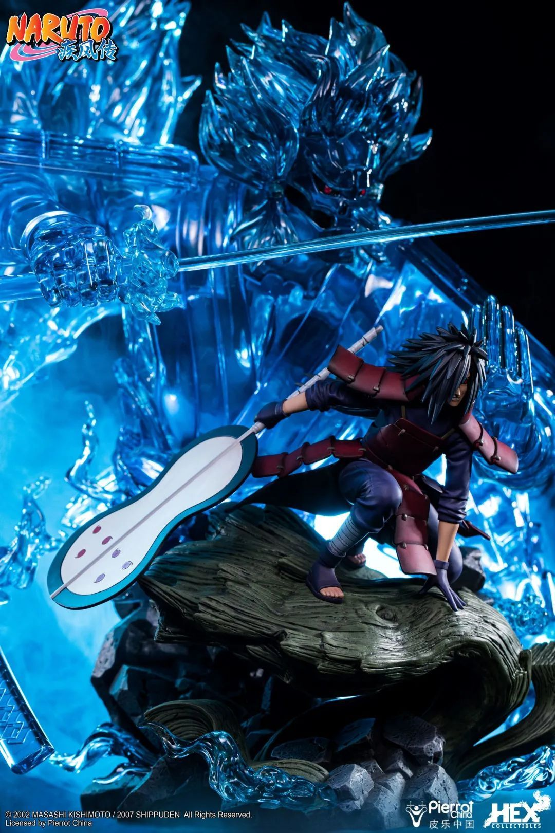 "HEX Collectibles ""宇智波斑--血继限界·轮回眼·须佐能乎""1/8比例雕像预订正式开启!"