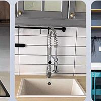 穷人的剁手清单 篇六十五:可抽拉双出水的厨房龙头用起来更方便