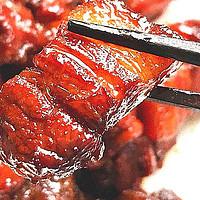 红烧肉柴硬难嚼,原因是五花肉焯水了!掌握3个要点,酥软甘香