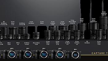 尼康公布最新版本Z卡口镜头路线图,85mm新镜、400和800都要来了
