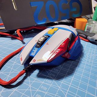 高达配色g502鼠标,鼠标改色上了瘾