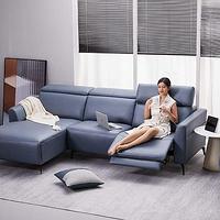 下班回家来个葛优躺!8H Master大师智能电动沙发让质感生活再进阶