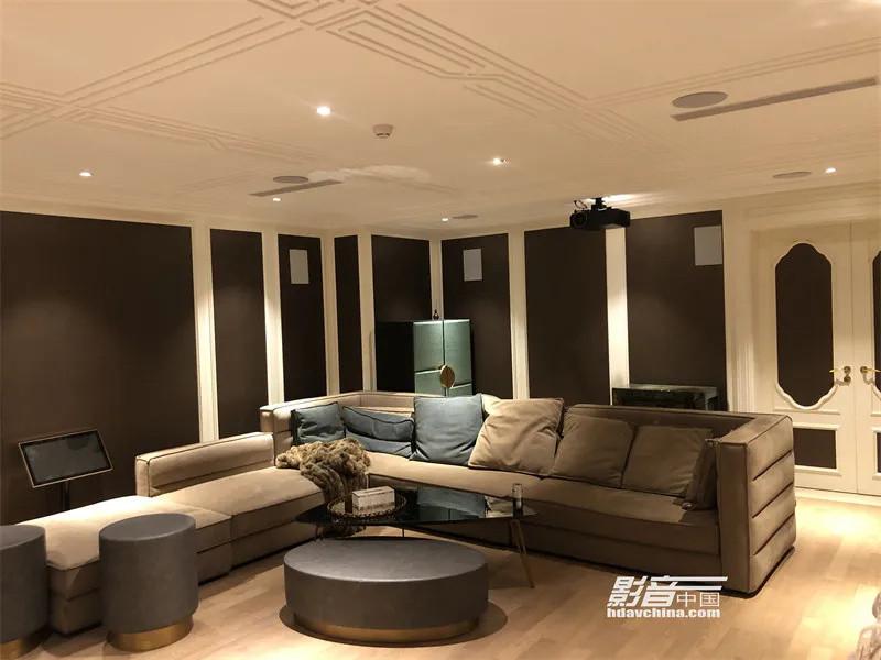【家庭影院案例】北京市壹号庄园别墅:舒适娱乐空间杜比7.2.4声道沉浸观影案例赏析
