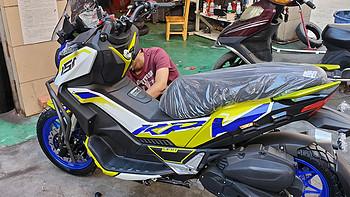 年轻人的第一辆摩托车