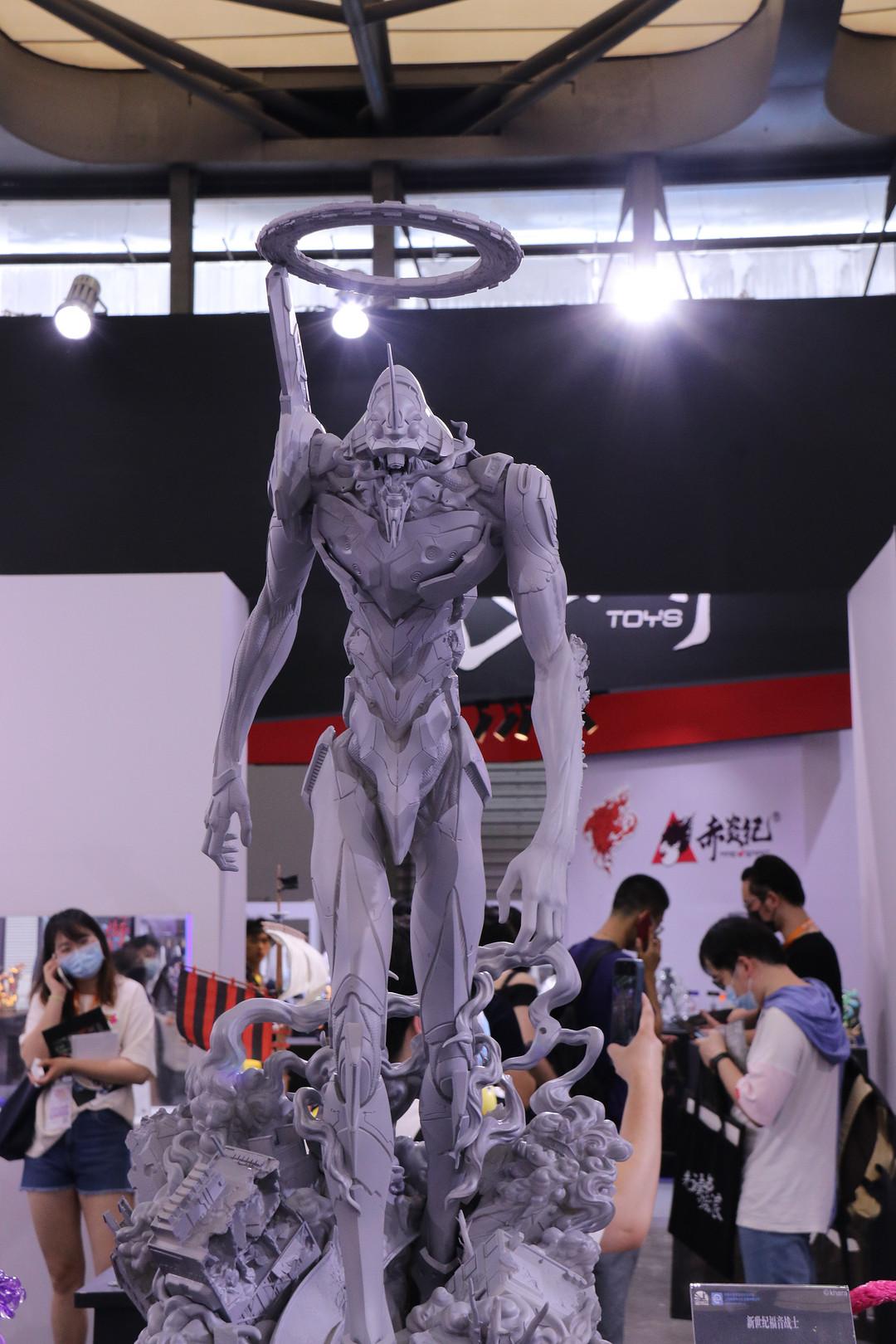 玩模总动员:开天工作室 x《鬼灭之刃》全新作品 WF上海首秀