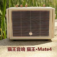 多场景实用的重低音音响猫王·Mate4: 超旗舰型2.1立体声音响