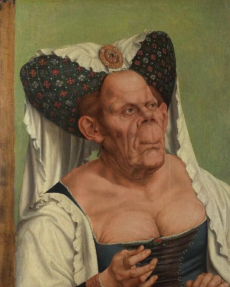 【每日映画】世界上最丑肖像画——《丑陋的公爵夫人》